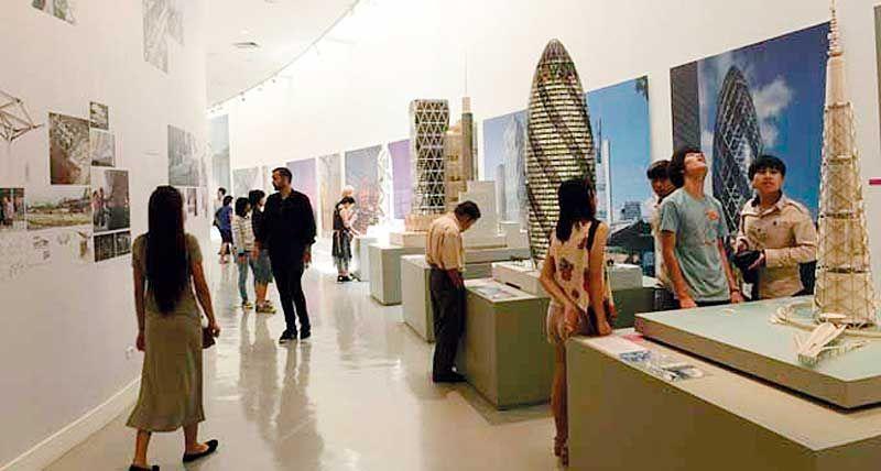ชวนชมงานศิลปะ แห่งสถาปัตยกรรม